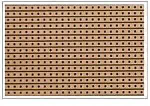 vero board pour fabrication de pédale d'effet