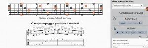 g-major-arpeggio-guitar-trainer