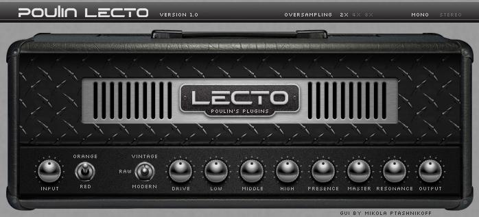 L'ampli LECTO un Mesa Boogie Dual Rectifier like très sympa