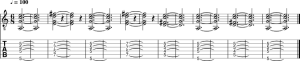 progression-Am7-Em9-D9