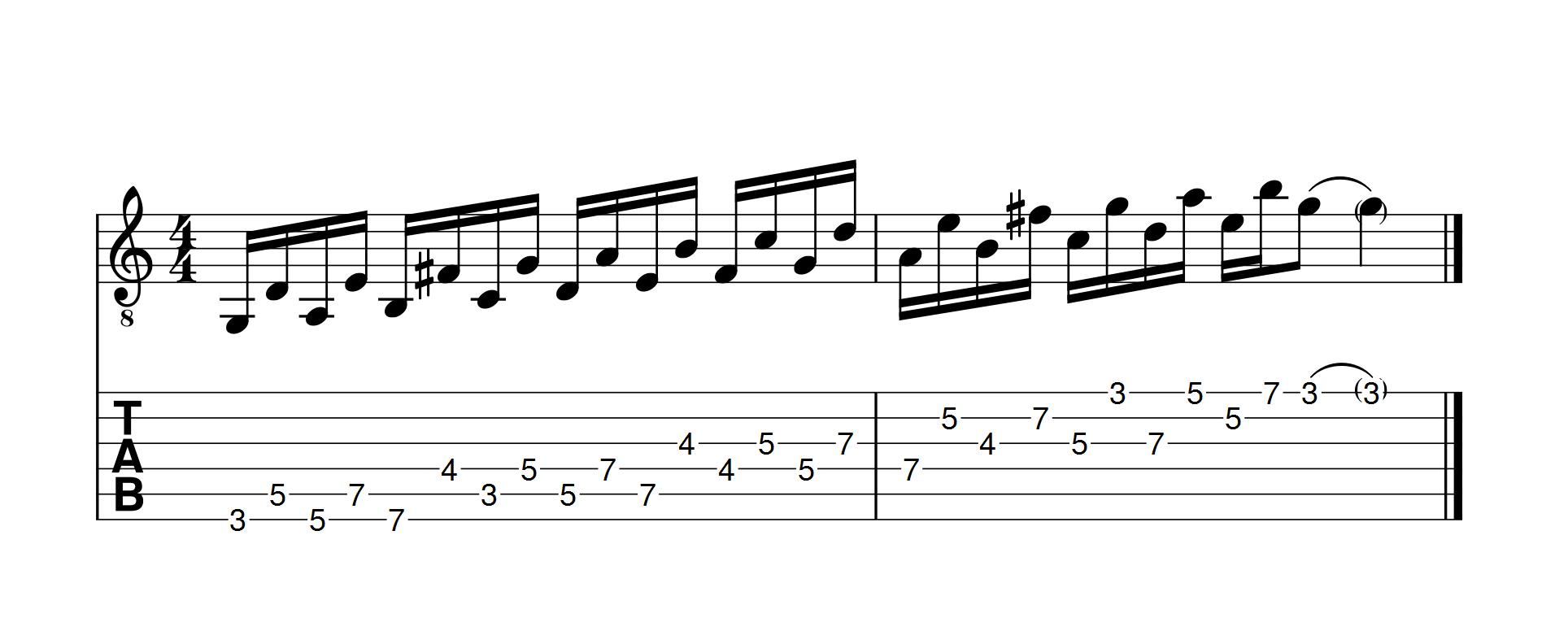 gamme-majeure-jouée-avec-des-ecarts-de-5-notes