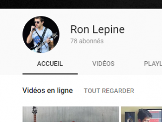La chaine vidéo d'apprentissage de la guitare de Ron Lepine