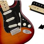 Comment installer un humbucker dans une stratocaster SSS