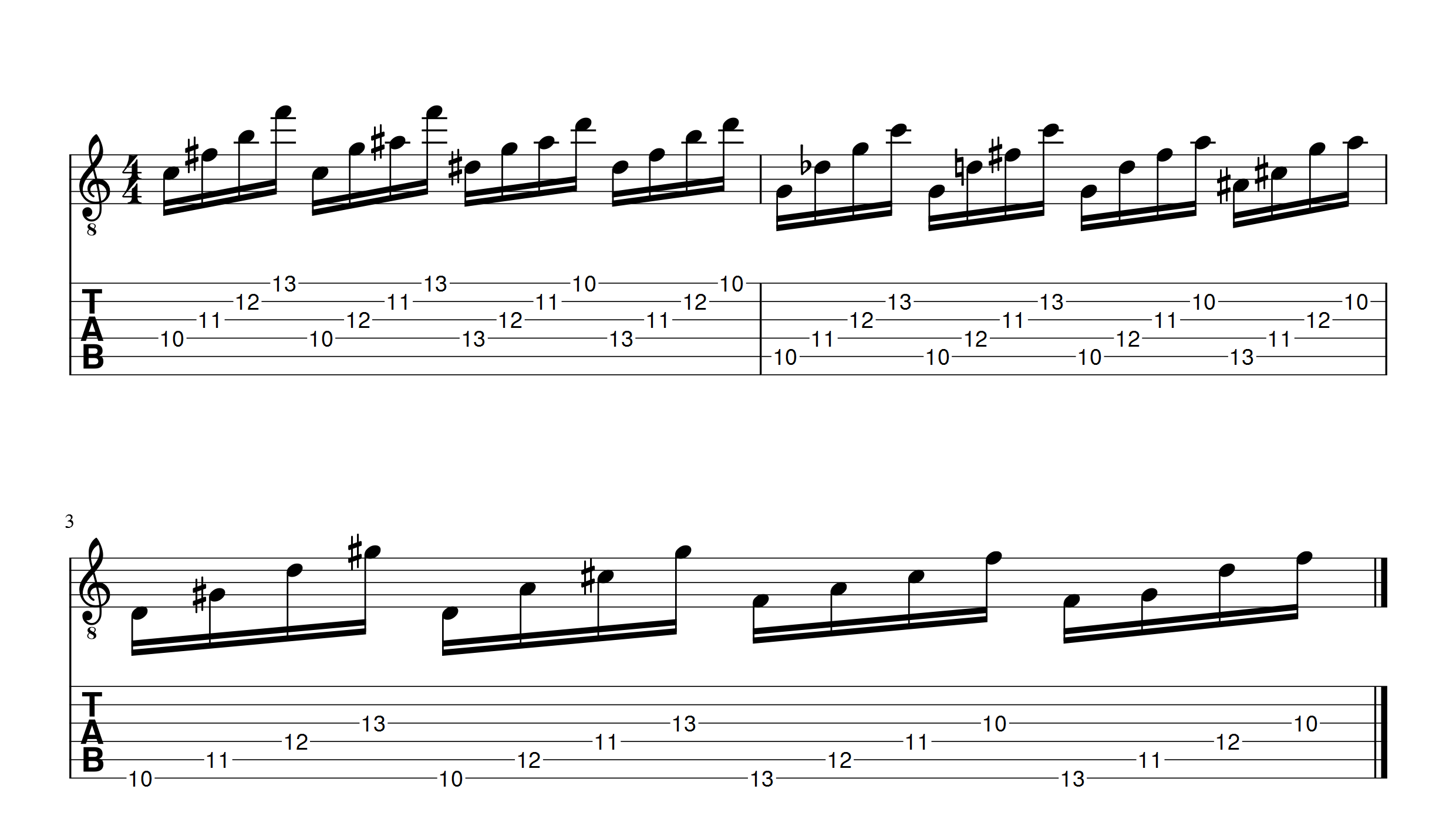 warm up left hand petrucci part1 1 apprendre la guitare